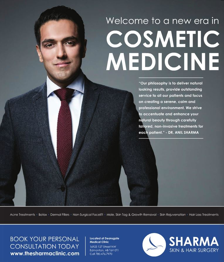 doctor sharma edmonton sharma skin & hair surgery clinic